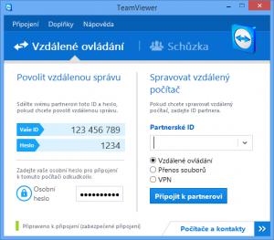 TeamViewer plná verze programu